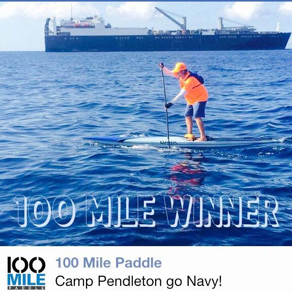 Tim 100 Mile Paddle