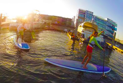 Group flatwater lesson